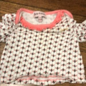 Juicy Couture 3/6 month matching outfit